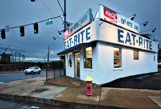 The iconic Eat Rite diner in St. Louis